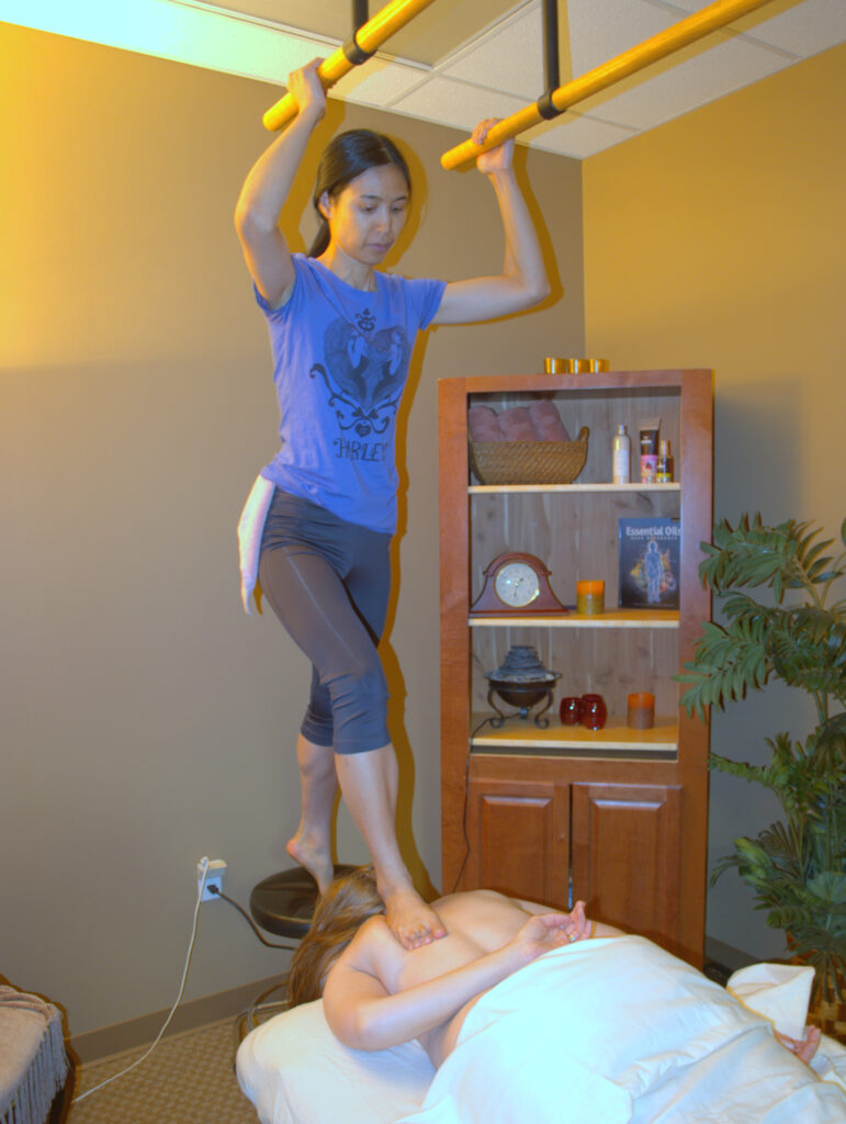 Barefoot Deep Pressure Massage