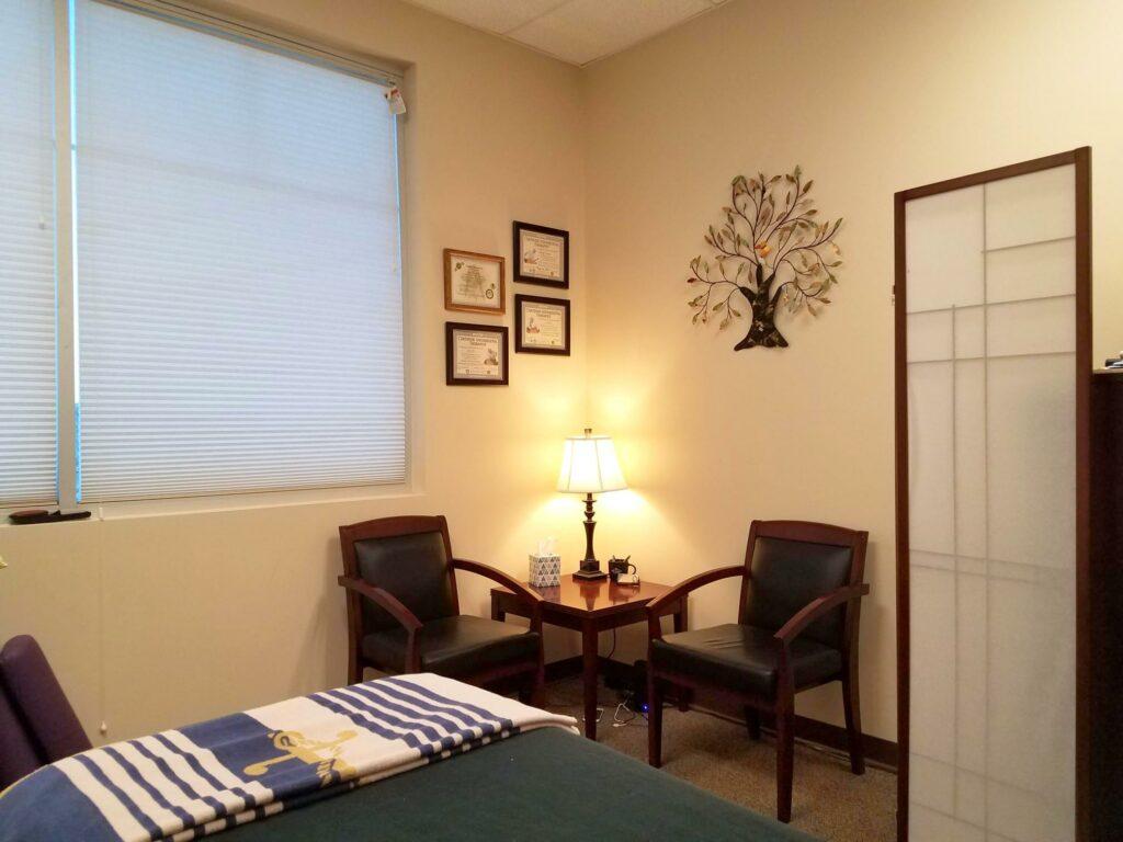 Sitting & Consultation Area