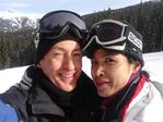 Jing & Leo Skiing Copper Mtn