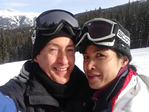 Jing & Leo Skiing Copper Mtn
